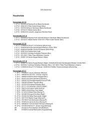 Resultatliste - Rødekro Idrætsforening