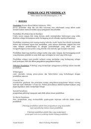 Psikologi Pendidikan.pdf - Staff UNY
