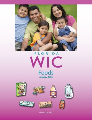 WIC Approved Foods - Florida Department of Health
