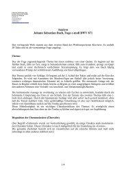Analyse Johann Sebastian Bach, Fuge c-moll BWV 871 - Jörn ...