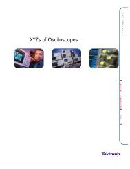 Tektronix: Primer > XYZs of Oscilloscopes - Socrates