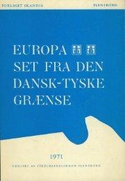 europa set fra den dansk-tyske grænse opgøret med fortiden