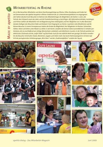 Mitarbeitertag (PDF, 0,1 MB) - Apetito