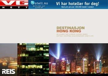 DESTINASJON HONG KONG - VG