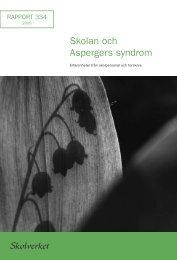 Skolan och Aspergers syndrom - Sveriges Radio