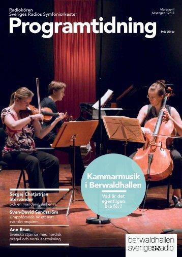 Programtidning - Sveriges Radio