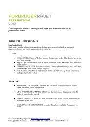 Hent denne side om indholdet i bladet Tænk 2010 som pdf-fil