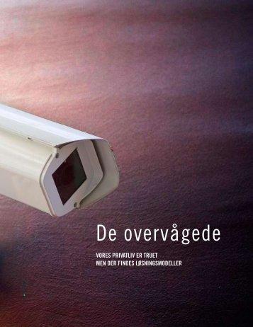 Download bogen De overvågede gratis her (pdf) - Tænk