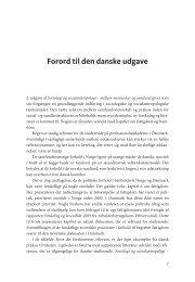 Forord til den danske udgave - Gyldendal