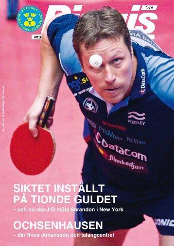 Tidningen Pingis nummer 2 - IdrottOnline Förbund - en del av ...