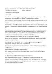 Referat fra TR-netværksmøde d. 26. februar 2013