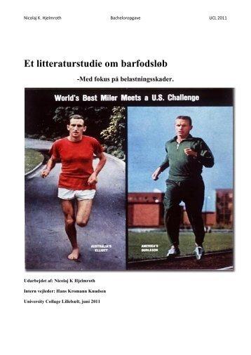 Et litteraturstudie om barfodsløb - Danske Fysioterapeuter