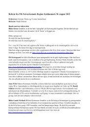 Referat fra TR-netværksmøde d. 30. august 2012 - Danske ...