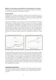 Rapport - Udenrigsministeriet