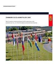 DANMARK OG EU-DOMSTOLEN I 2009