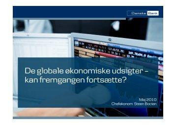 Renterne skal normaliseres - Danske Bank
