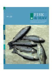 Fisk & Hav nr. 59 - DTU Aqua