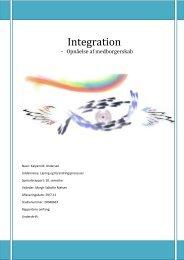 Integration - VBN - Aalborg Universitet