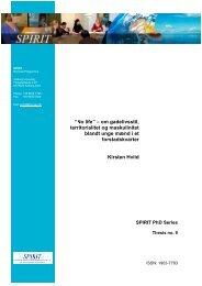 Spirit phd series 9 hviid - VBN - Aalborg Universitet