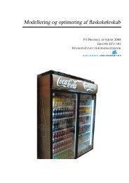 Modellering og optimering af flaskekøleskab - VBN