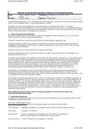 2010 Generalforsamling - Hasseris Grundejerforening