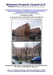 AB Falkegården - Wismann Property Consult