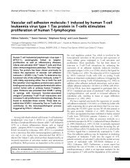 Vascular cell adhesion molecule-1 induced by human T-cell ...
