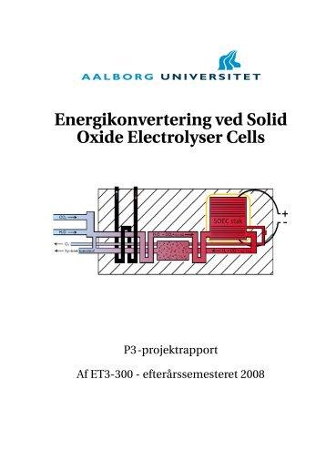 Energikonvertering ved Solid Oxide Electrolyser Cells