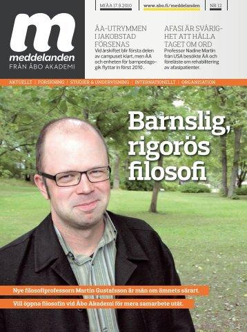 Hela den tryckta tidningen som en pdf-fil (ca 2300 KB) - Åbo Akademi