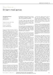 PDF - Tidsskrift for Den norske lægeforening