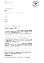 Retten i Herning - Kammeradvokaten