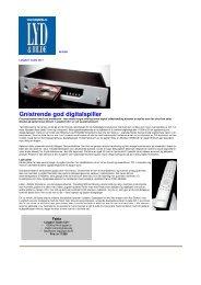 Gnistrende god digitalspiller - 4Audio