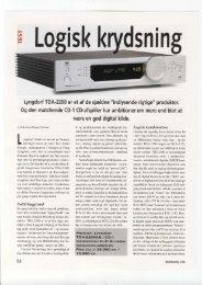 Lyngdorf TDA-2200 er et af de sjaldne