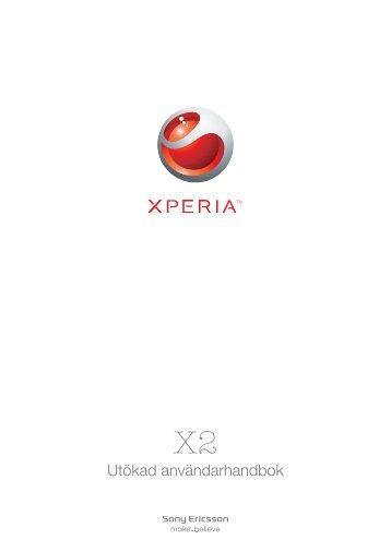Utökad användarhandbok - Sony