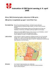 Instruktion - Aarhus Idrætsforening af 1900