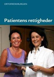 Hoftebrud - patientrettigheder