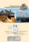 Monteringsanvisning på dobbelt modulskorstene - Lavprisvvs.dk - Page 2