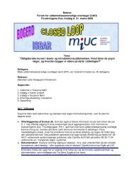 Referat Forum for uddannelsesansvarlige overlæger (UAO ...