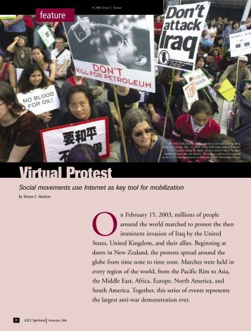 Virtual Protest - AALL