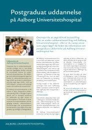 Postgraduat Uddannelse på Aalborg Universitetshospital