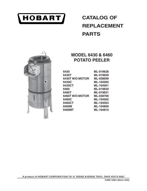 PS-003-40 Spiral Pin Hobart