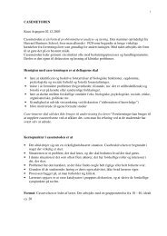 CASEMETODEN Knut Aspegren 02.12.2003 Casemetoden er en ...