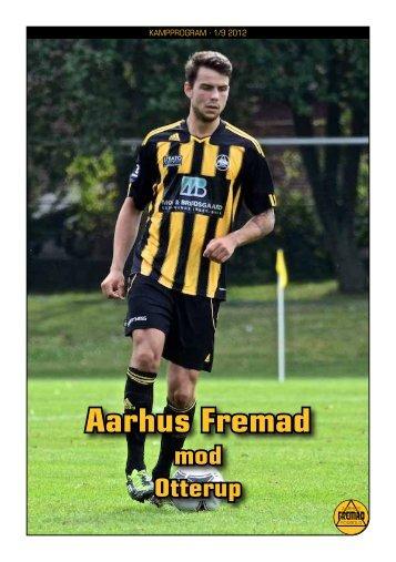 Kampprogram Aarhus Fremad – Otterup