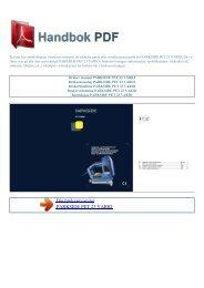 Bruker manual PARKSIDE PET 23 VARIO - HANDBOK PDF