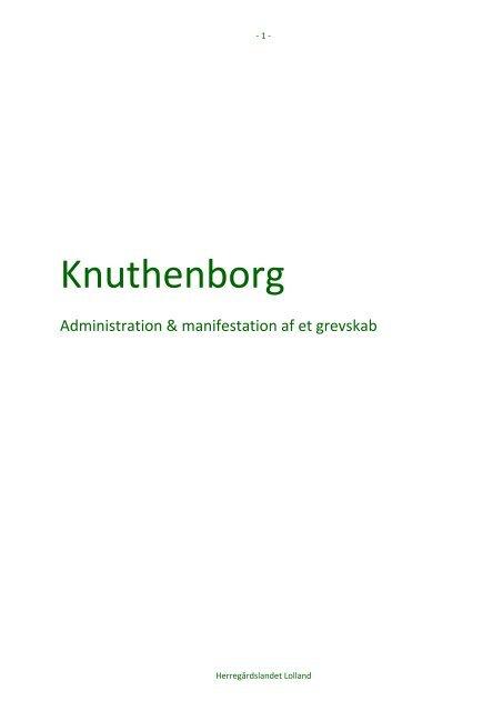 Knuthenborg - Åbne Samlinger