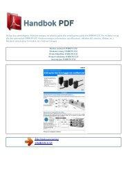 Bruker manual OMRON E3Z - HANDBOK PDF