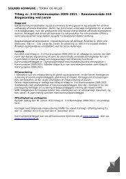 Tillæg nr. 3 til Kommuneplan 2009-2021 – Rammeområde 418 ...