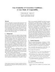 A Case Study of Cooperability