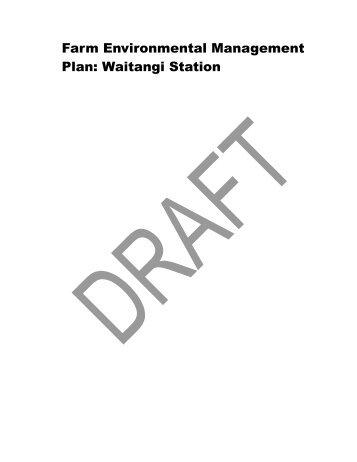Waitangi Station - Environment Canterbury