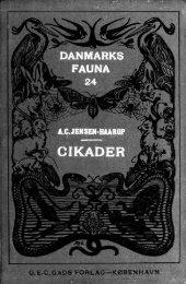 Danmarks fauna; illustrerede haandbøger over den danske ...